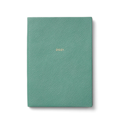 Ежедневник 2021 Soho Diary With Pocket Seagreen