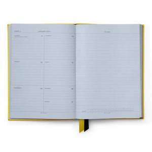 Ежедневник 2021 Soho Diary With Pocket Lemon