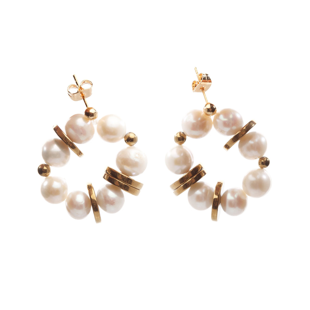 Sacred Pearl Earrings