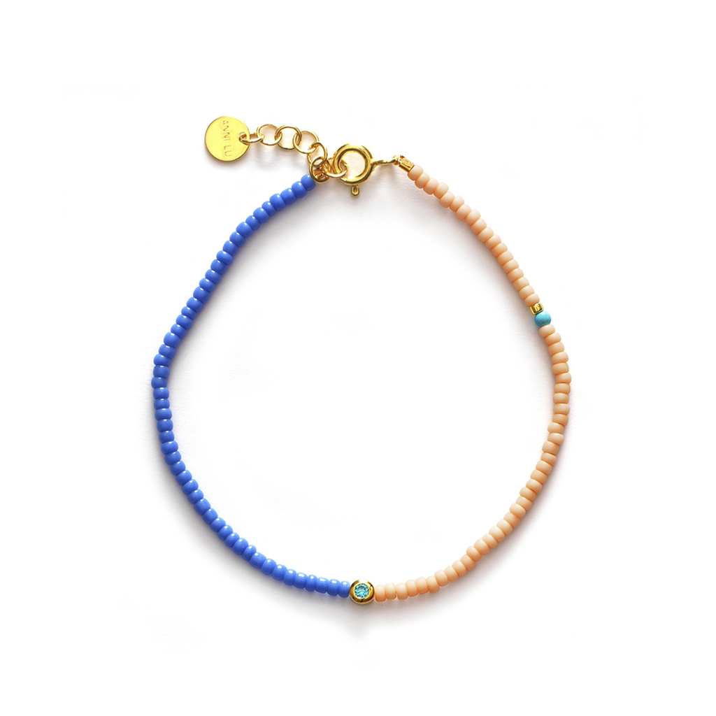 Disco Bracelet - Bright Blue