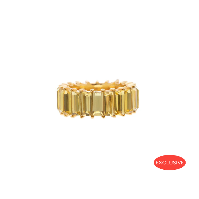 Yellow Ballier Ring