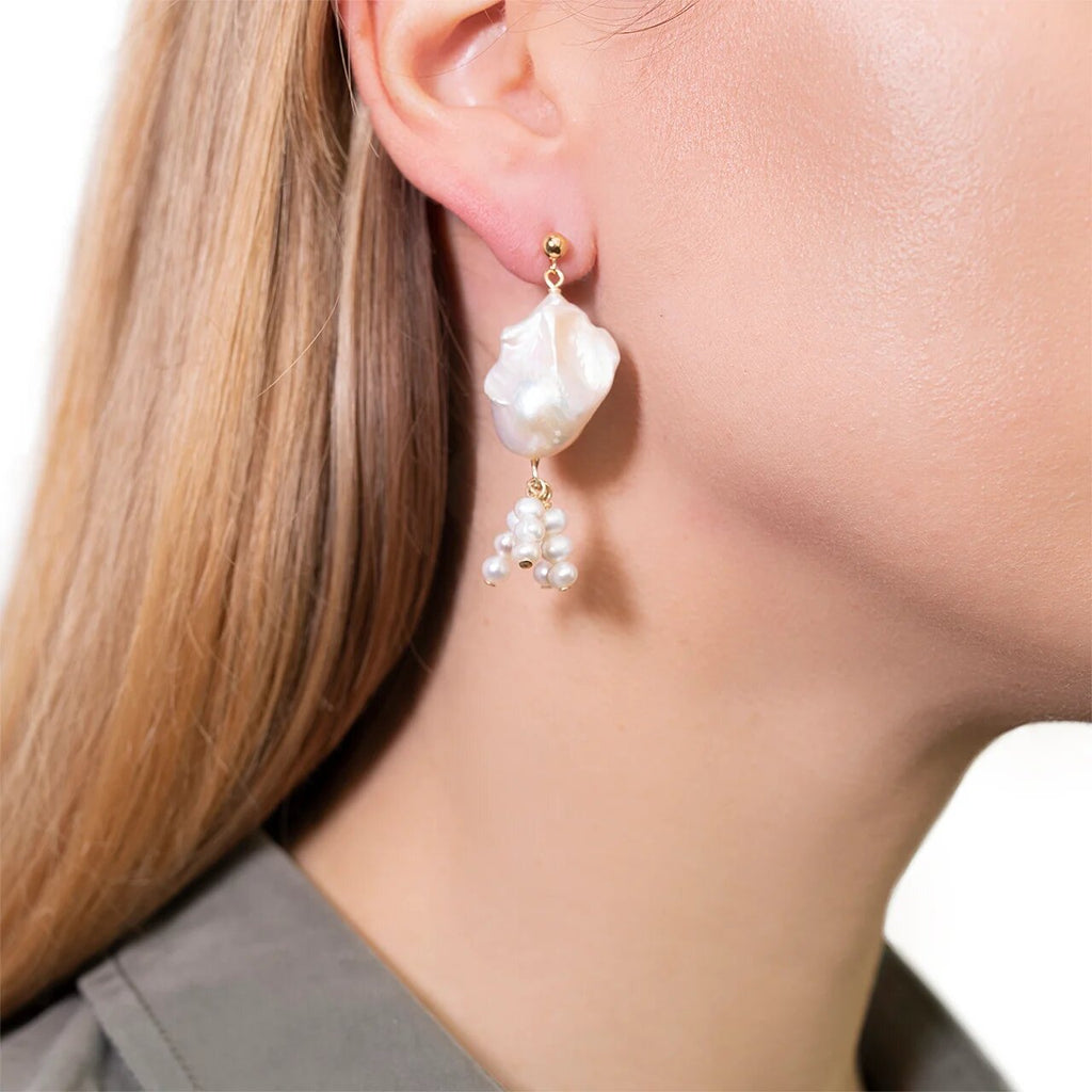 Lucca Pearl Earrings