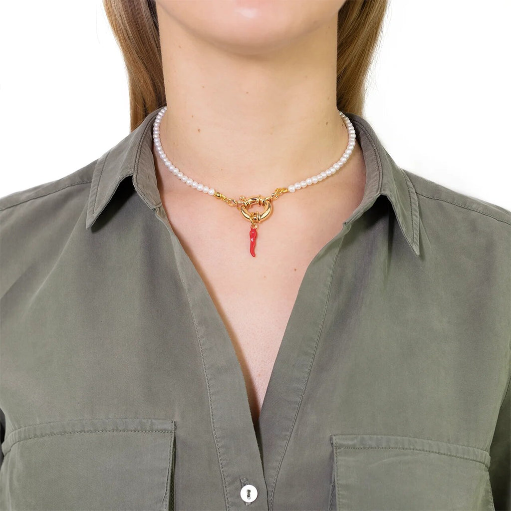 Hot Pepper Necklace