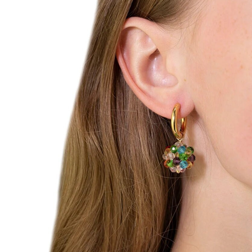Flori Multi Glass XS Earrings