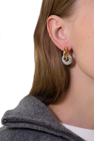 Mismatched & Shiny Ball Earrings