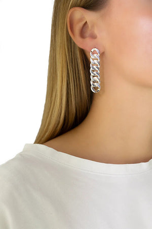 Silver Grand Earrings
