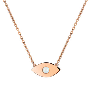 Oracule Necklace With Opal