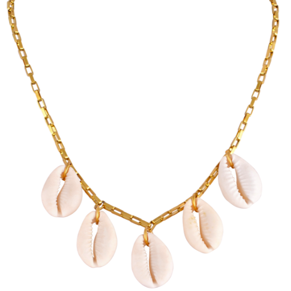 The Cowries Chain Choker