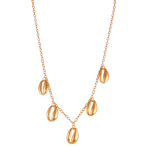 The Cowries Chain Necklace