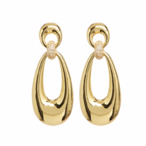 The Santos Statement Hoops - Gold