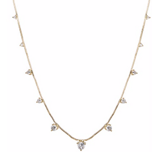The Orien Charm Necklace - Gold