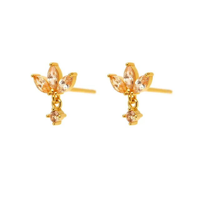 Golden Paw Earrings