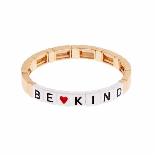 Be Kind Gold Bracelet
