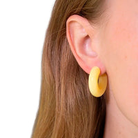 Light Yellow Earrings
