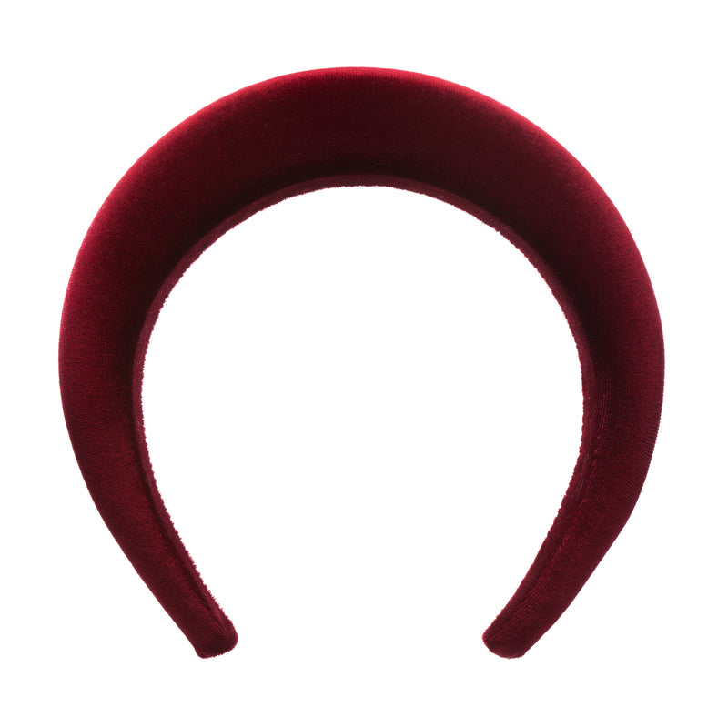 Burgundy Hair Band