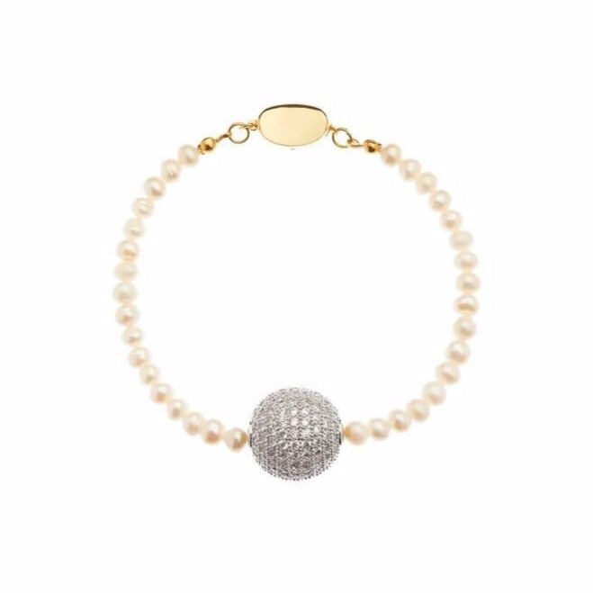 Shiny Ball Anklet