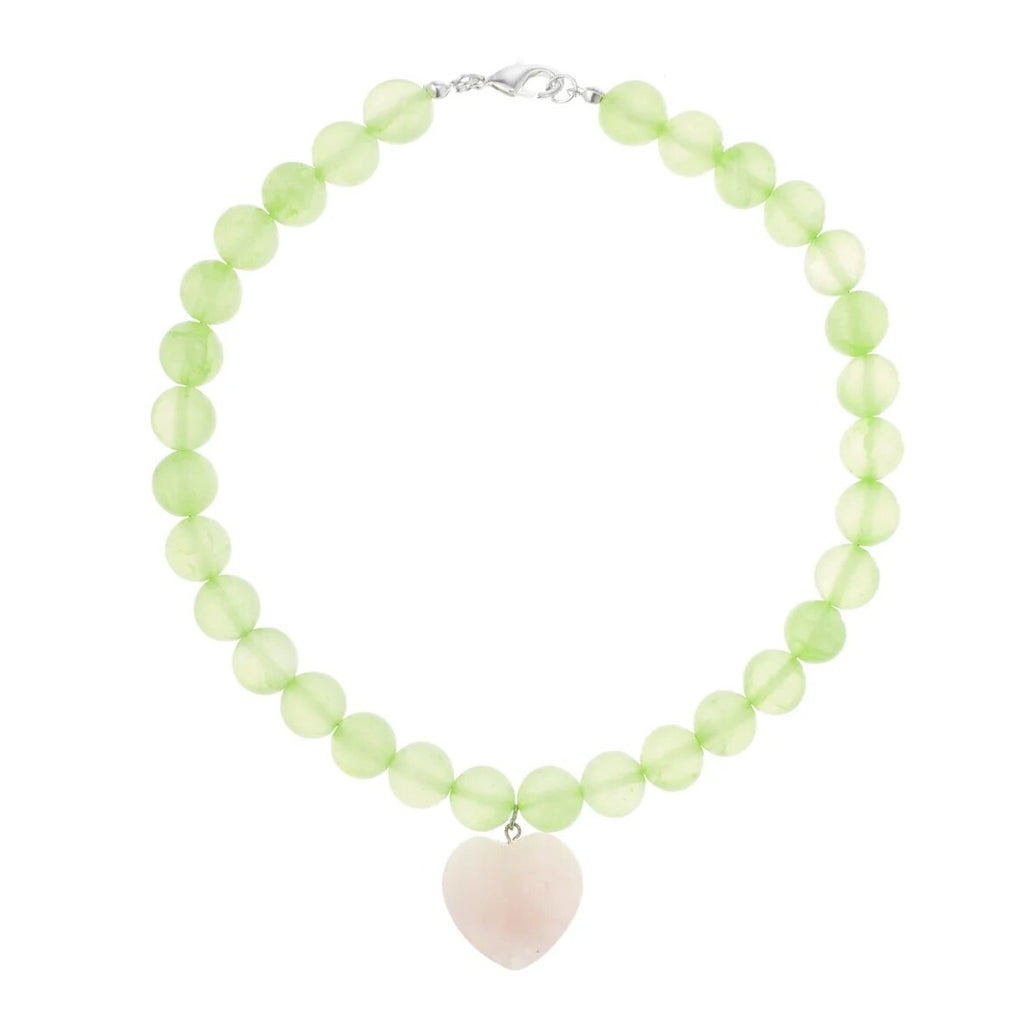 Green Love Necklace