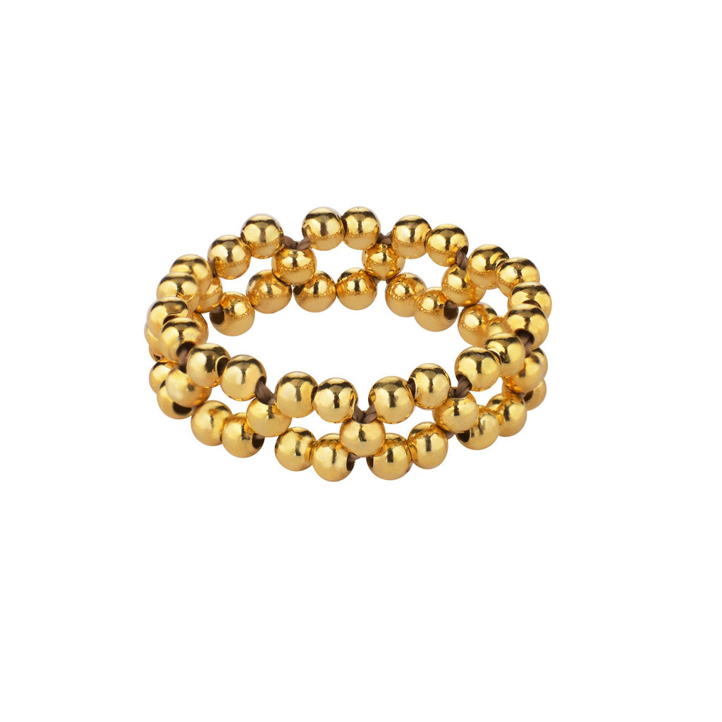 Wave Gold Soft Ring