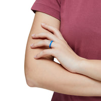 Blue Candy Line Ring