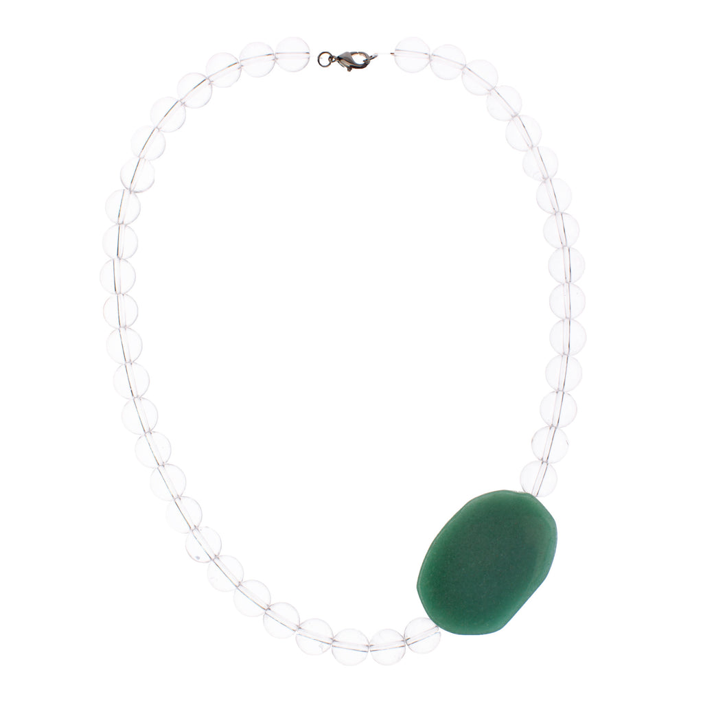 Glass Jade Necklace