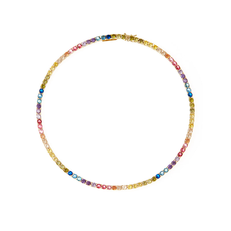 Laguna Gold Multi Necklace