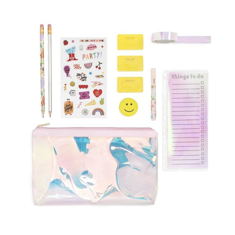 Stationery Set - Pearlescent
