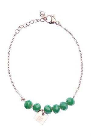 DRAGÉE BRACELET GREEN