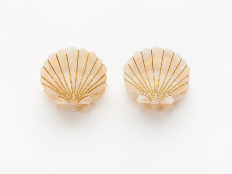 Ursula Shell Clip Pink (Пара)