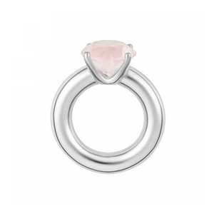 Cartoon Ring With Rose Quartz