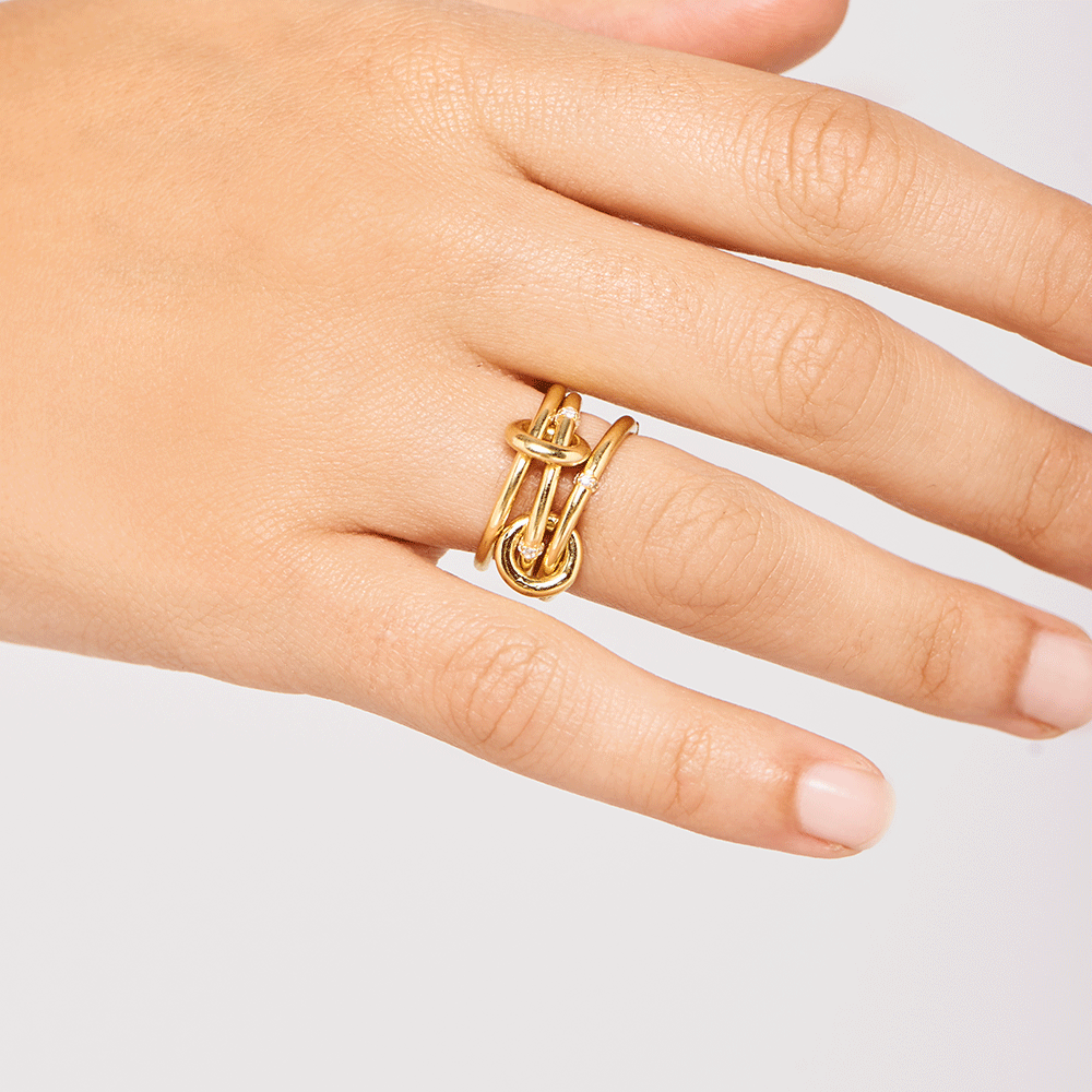 Solstice Gold Ring