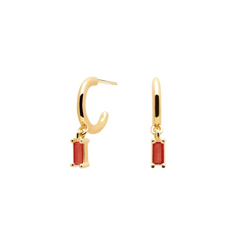 Cherry Alia Gold Earrings