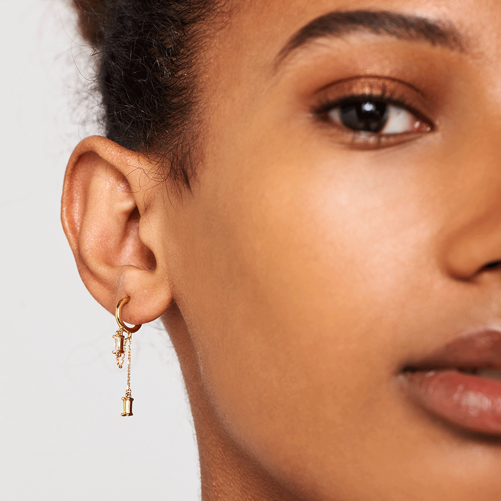 Salma Gold Earrings