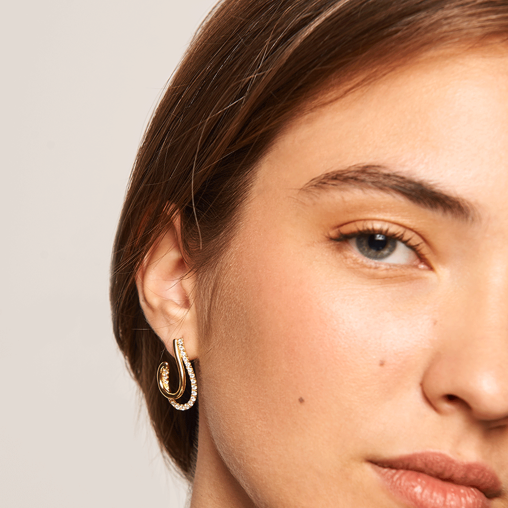 Koy Gold Earrings