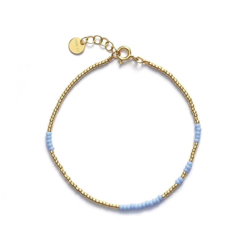 Asym Light Blue Bracelet