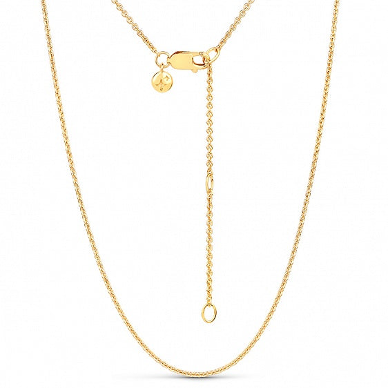 Plain Chain - Gold
