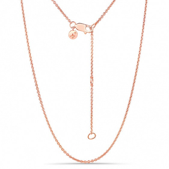 Plain Chain - Rose Gold