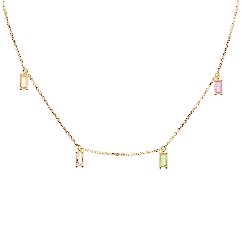Elija Gold Necklace