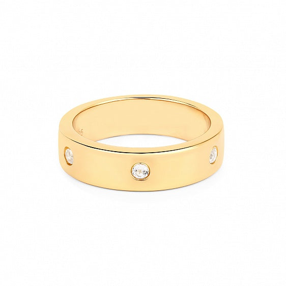 Initials Ring - Gold