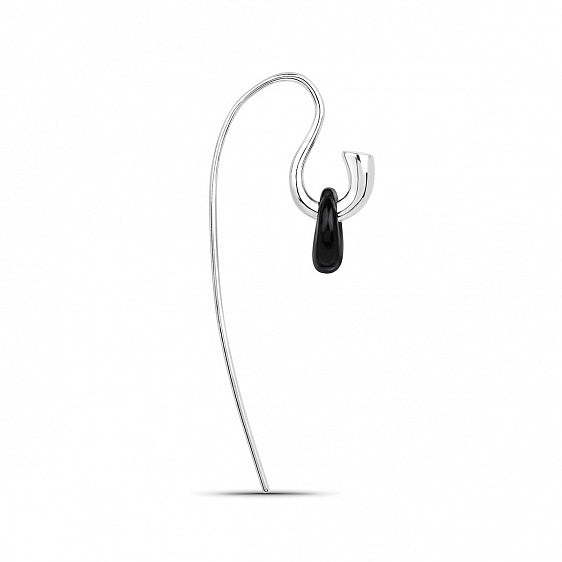 Hook Earring - Silver