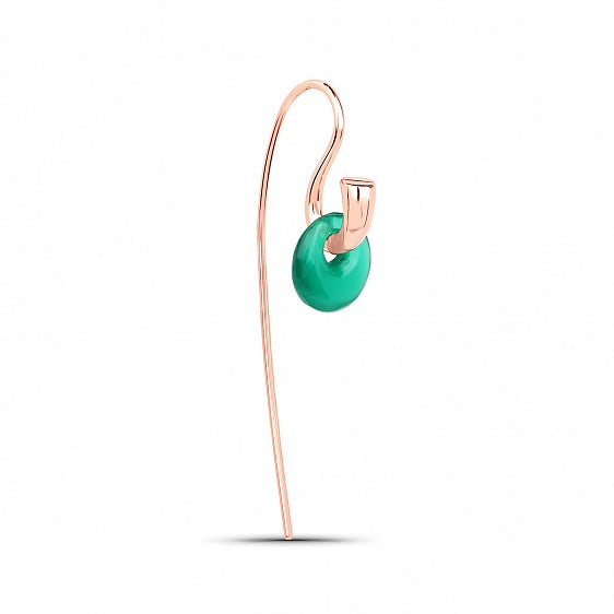 Hook Earring - Rose Gold