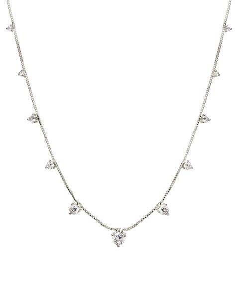 The Orien Charm Necklace - Silver