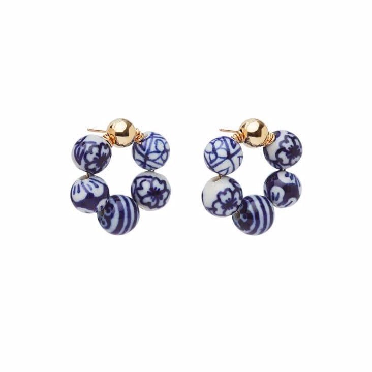 Blauw OG Earrings