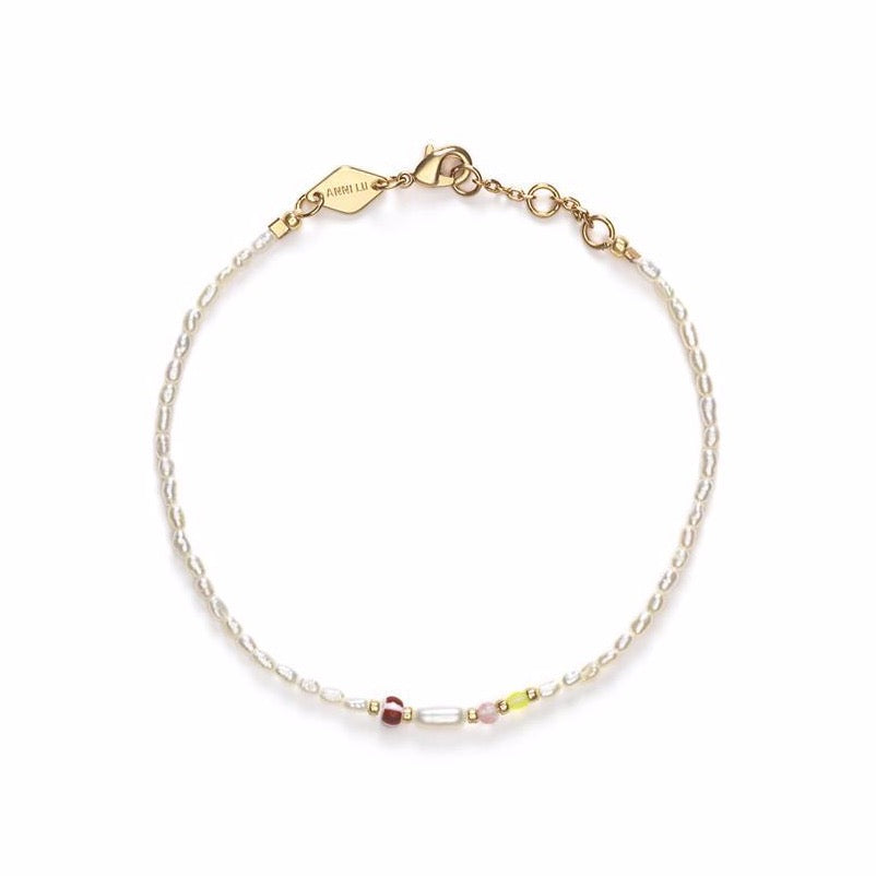 Rice&Shine Bracelet - White Smoke