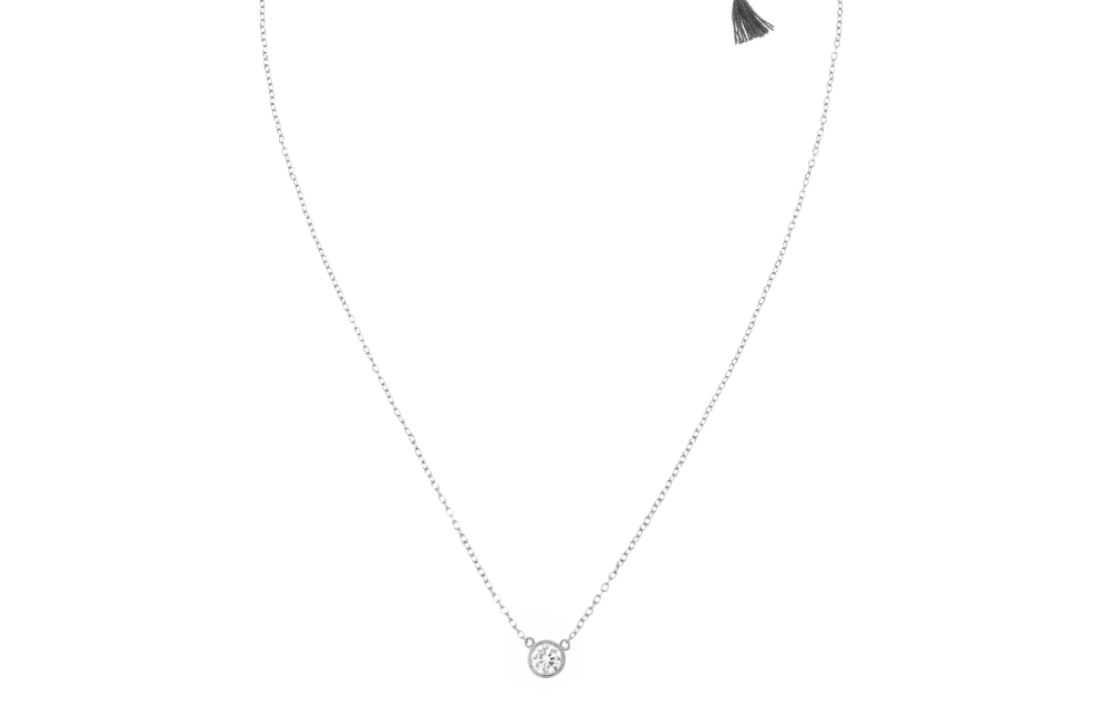 Solitaire Necklace WG