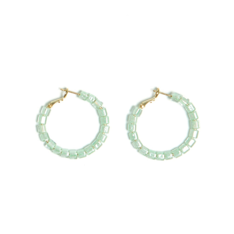 Mint Congo Earrings
