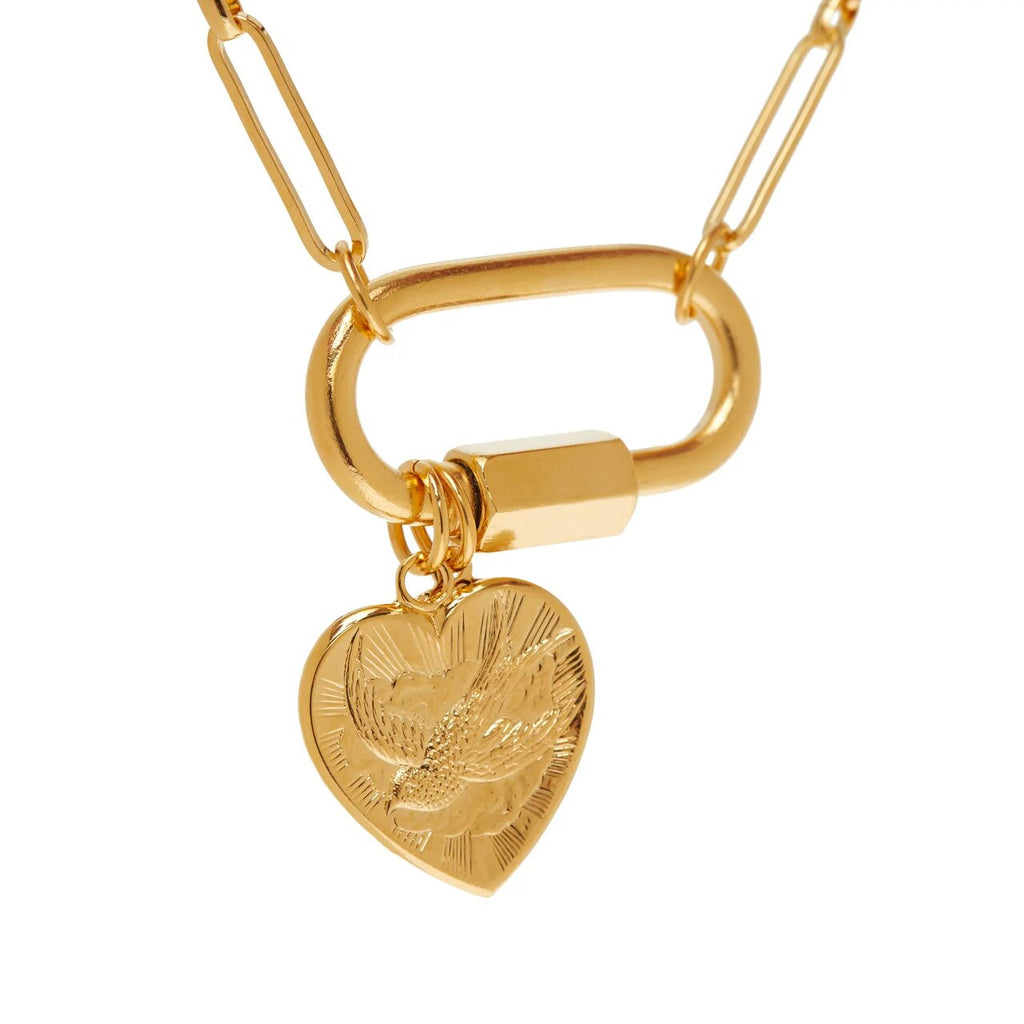 Heart&Good Luck Necklace