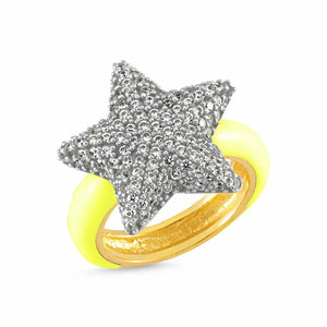 Extra Star Yellow Ring