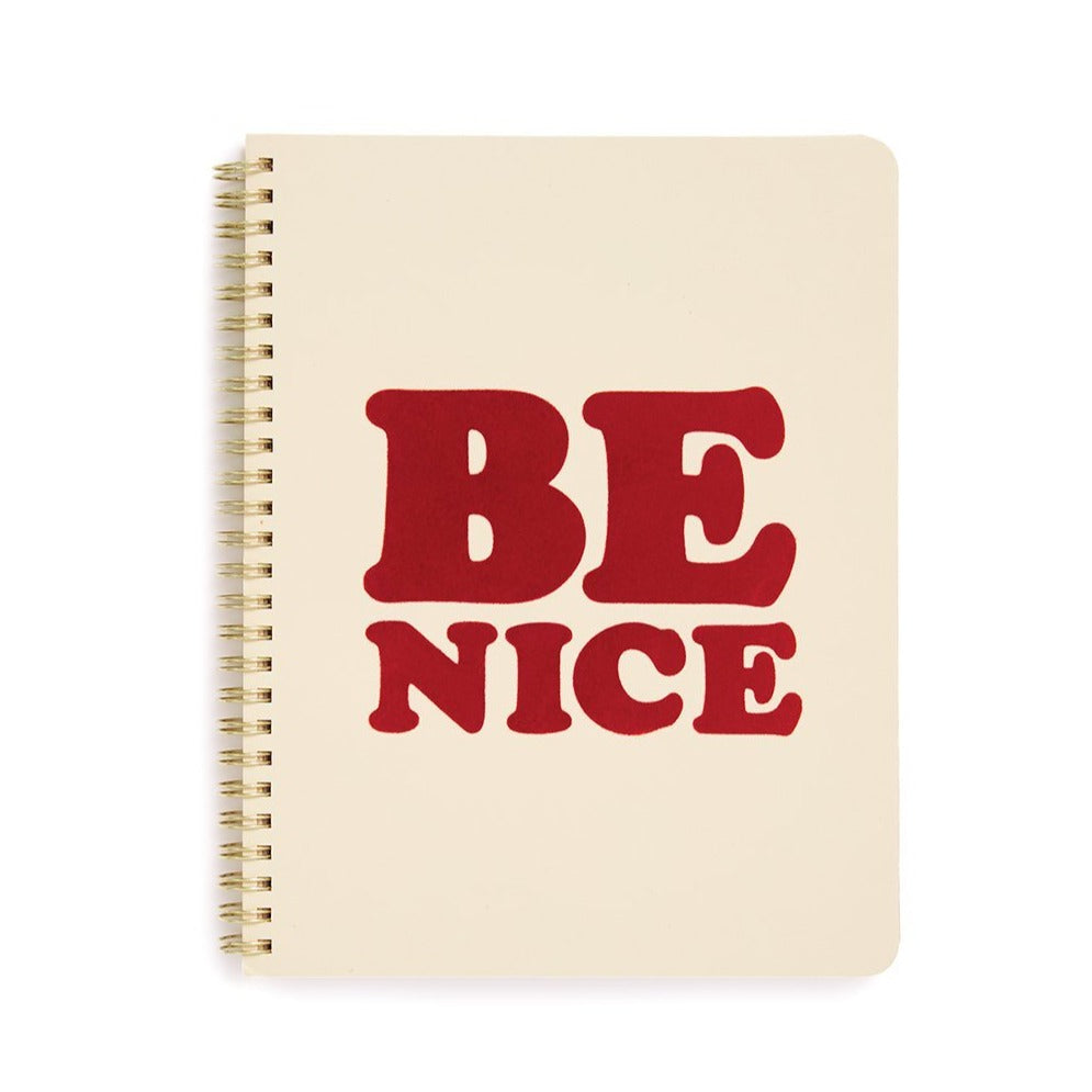 Little Notebook - Be Nice