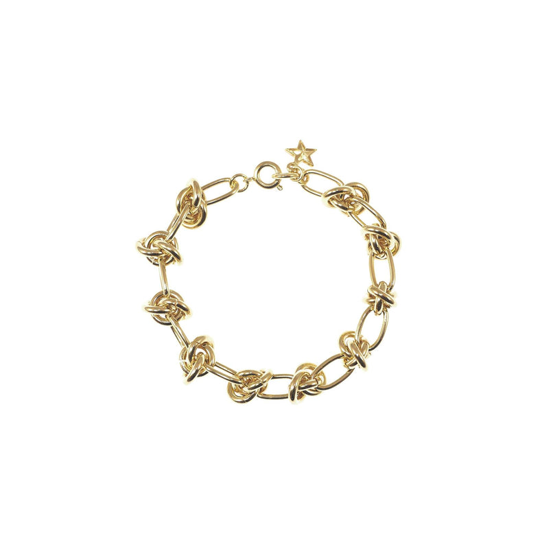 Gold Enterlacs Bracelet