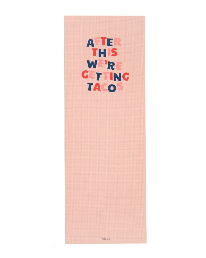 Yoga Mat - After This We're Getting Tacos